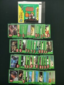 1977 Topps STAR WARS Series 4 (Green) Trading Card Set Ex-NM - w UNCORRECTED 207