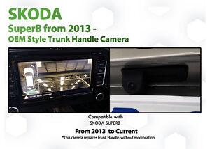 Skoda Superb B6 2008-2014 2nd Gen Columbus Audio Reversing Camera module kit