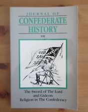 CONFEDERATE HISTORY JOURNAL RELIGION IN CONFEDERACY