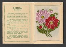 More details for kensitas wix tobacco variety medium silk flower dahlia different stemens cover a