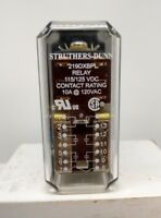 STRUTHERS-DUNN RELAY - Model 219DXBPL-125VAC