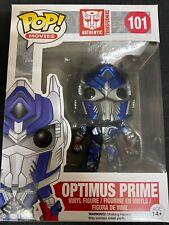 Optimus prime Transformers #101 Funko pop! vinyl RARE mettalic