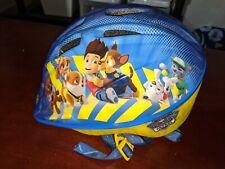 Paw Patrol Kids Bike Bicycle Helmet PP78275-2 Nickelodeon Adjustable Light Used