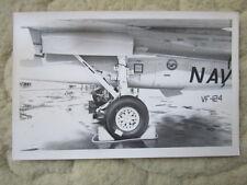 PHOTO GRUMMAN F-14 TOMCAT US NAVY VF-124 DETAIL BOURGET ? PRATT WHITNEY TF30