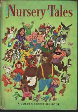 Nursery tales by elsa jane werner and tibor gergely golden press 1963 hardcover