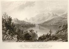 Picturesque Ireland -Bartlett Eng.-1884- UPPER LAKE KIL