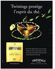 PUBLICITE ADVERTISING  2009   TWININGS  thé