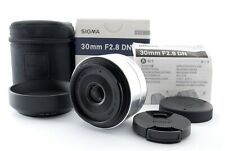 【Near Mint】SIGMA Art 30mm F/2.8 DN AF Lens Silver for Micro Four Thirds 807762