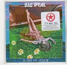 (GF806) Big Deal, In Your Car / Catch Up - 2014 DJ CD