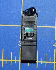 "1:6 Black Walkie-Talkie Handheld Transceiver Radio for 12"" Action Figure C-261"