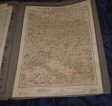 FIRENZE - BOLOGNA 1925 ATLANTE STRADALE D'ITALIA TCI Foglio n. 20