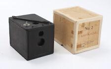 NO. 2 FLEXO KODAK, TAPED-UP BOX, DOOR HINGES TORN/SEPARATED, AS-IS/cks/199621