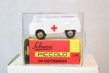Schuco Piccolo Volkswagen Kastenwagen Rode Kruis  neu perfect mint in box 1:90