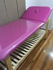 CUSTOM MADE TO ORDER ULTRASTYLE AUSTRALIAN MADE WOODEN BEAUTY BED TATTOO MASSAGE