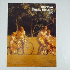 Vintage Schwinn 1985 Family Bicycles Brochure
