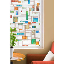 """24x36"""" Church Decorative Window Film Light Filter Privacy Textured Stained Glass"""