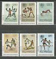 Mozambique - Mail Yvert 948/53 MNH Olympics of The Angeles