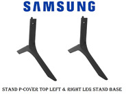 Samsung Assembly Cover P-Stand Top Left Leg & Right Leg TV Mount Stand Base