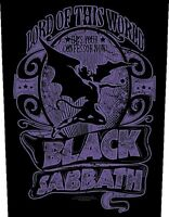 Black Sabbath Lord Of This World large sew-on cloth backpatch 360mm x 300mm (rz)
