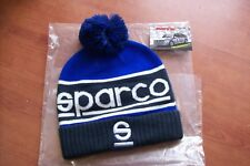 Cappello invernale Sparco Windy pon pon bicolore logo Sparco ricamato berretto