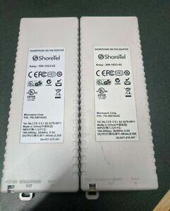 "Lot of 2 - Shoretel PD-3501G/AC/300-1023-02 2x 48V 0.35A Gigabit PoE Adapter ""A"""