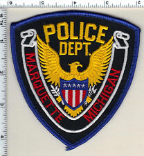 Marquette Police (Michigan)  Shoulder Patch  - new from 1991