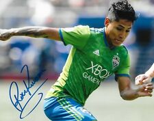 Raul Ruidiaz Peru signed Seattle Sounders 8x10 photo MLS Soccer autographed 5