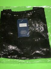 "Envy Me ""BLACK-MEDIUM"" Sequin Mini-Skirt Elastic Waist *VERY RARE* New With Tags"