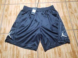 NEW Air Jordan Franchise 8 Basketball Shorts AJ1120-014 BLACK Men's Size 3XL