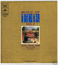 LP INDIA USTAD VILAYAT KHAN MUSIC OF INDIA VOL 2