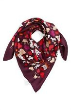 Jonathan Adler House of Cards Silk Scarf Fashion Womens Dress Cute Wrap Muffler