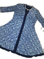 Sz10P NWT Rabbit Rabbit Rabbit Brand Navy & White 3/4 Sleeve Fall/Winter Dress