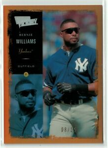 2000 Ultimate Victory Parallel 25 Gold #41 Bernie Williams #08/25 Yankees!