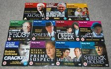 11 CLASSIC DETECTIVES DVD'S - INSPECTOR WEXFORD - FOYLE'S WAR - CRACKER ect