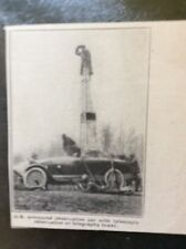 a1l ephemera 1917 ww1 picture american armoured observation car