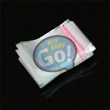 200pcs 3x7cm Wholesale Lots Self Adhesive Seal Plastic Bags New