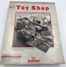 Rare Vtg Apple Commodore IBM PC Macintosh Toy Shop Software Manual Broderbund