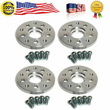 """4pcs 5x100 MM TO 5x112 MM Centric WHEEL SPACERS ADAPTERS 1"""" THICK 57.1 H.B"""