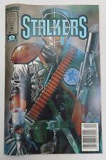 Stalkers  Vol. 1 No. 1 April 1990 Near MINT Condition Marvel Comics