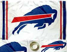 NEW Buffalo Bills White Flag Large 3'X5' NFL Banner  FREE SHIPPING