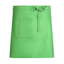 Newshine Aprons Half Waist Lime Green Bar Waitress