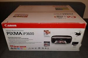 Canon PIXMA iP3600 Photo Inkjet Printer Brand New 👍