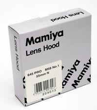 Mamiya 645 Pro Gegenlichtblende NR1 M58  für 55mm N lens hood no1   Neu / New