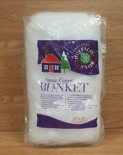 Genuine Buffalo Original 15 x 10 White Snow Cover Blanket Christmas Decor *READ*