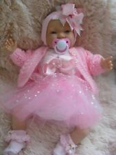 REBORN DOLL  ANNABELLE NEWBORN LIFE LIKE BABY GIRL CHILD FRIENDLY !!!!
