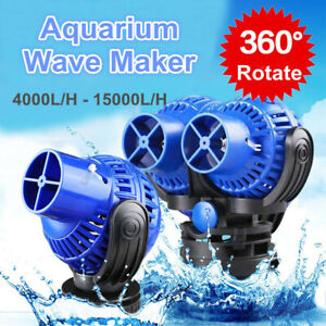 4000-15000L/H Aquarium Fish Tank 360 Water Wave Maker Pump Home Power Head  AU1