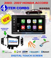 2003-07 HONDA ACCORD APPLE CARPLAY VRCP65 CD / DVD BLUETOOTH USB APP MODE RADIO