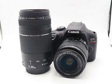 Canon EOS Rebel T6 Digital SLR Camera w/18-55 & 75-300 lenses Premium Bundle