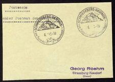█ Postsache Absender Postamt SCHMIEDEBERG (Riesengeb) █