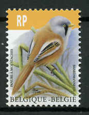 Belgium 2019 MNH Birds Definitives Bearded Reedling Tit RP 1v Set Stamps